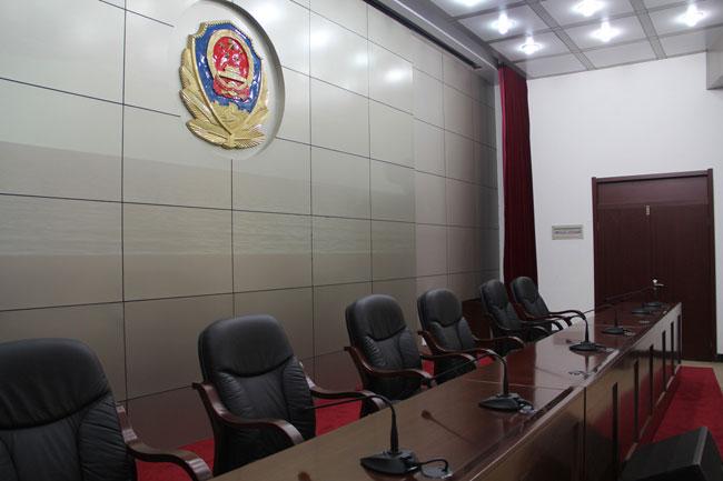 某政府单位会议室